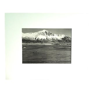 """1970s """"Njarovik"""" Icelandic Landscape Photograph by Fred Picker For Sale"""