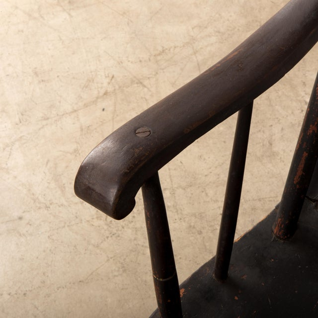 Early 19th Century Windsor Rocking Chair For Sale - Image 12 of 13
