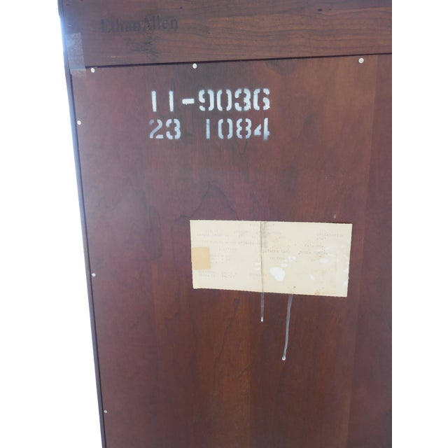 Ethan Allen Georgian Court Bookcase For Sale - Image 9 of 9