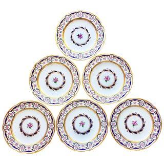 Sevres Dinner Plates - Set of 6 For Sale