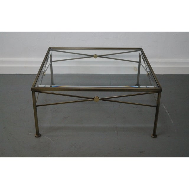 Design Institute of America Steel Coffee Table - Image 2 of 10