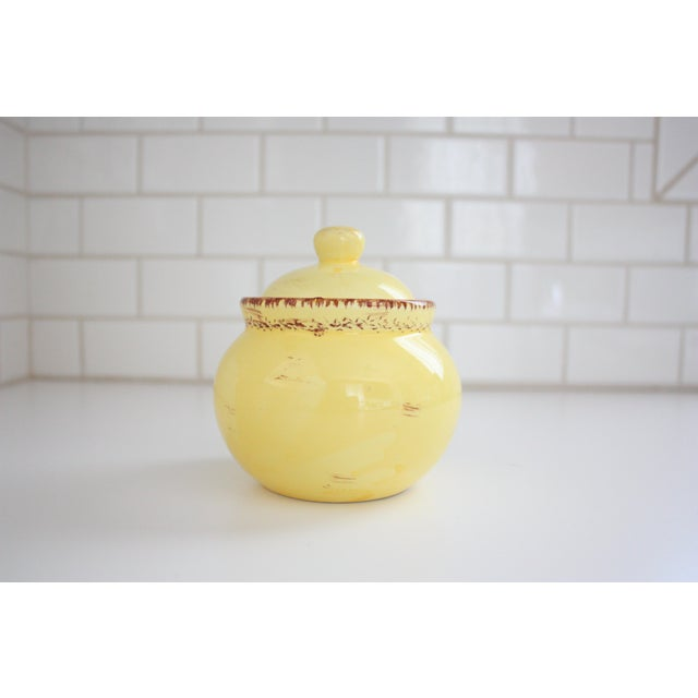 Yellow Small Honey Pot - Image 5 of 5
