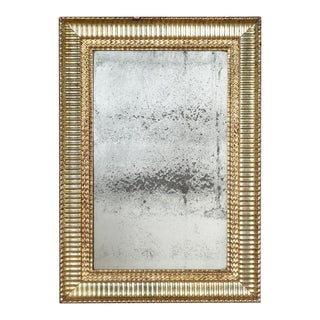 Antique Water Gilded Mirror For Sale