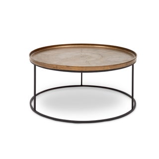 Sana Coffee Table in Antique Brass Preview
