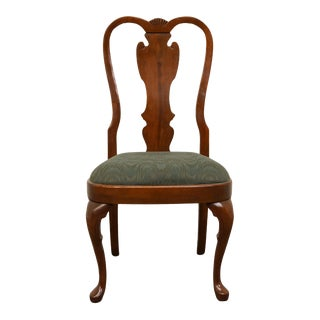Pennsylvania House Queen Anne Style Splat Back Dining / Side Chair For Sale