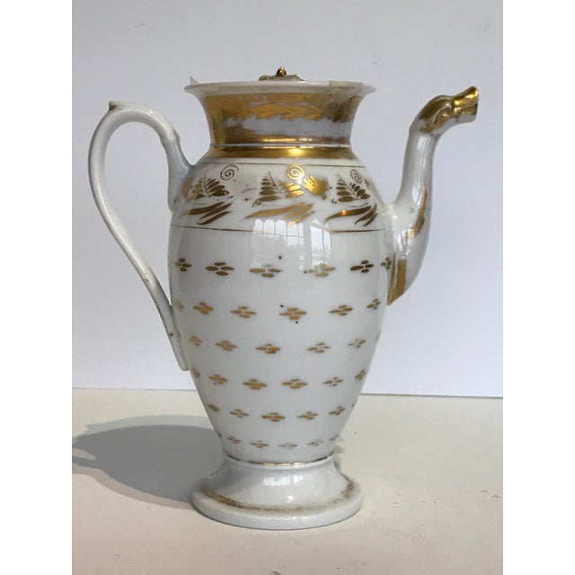 Vintage French Old Paris Coffee Pot For Sale - Image 6 of 6