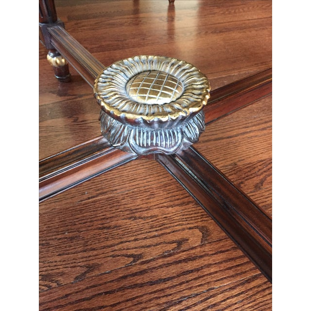 Louis XVI Reproduction Coffee Table - Image 4 of 6