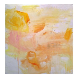 """""""Day Dream"""" by Trixie Pitts Large Abstract Expressionist Oil Painting For Sale"""