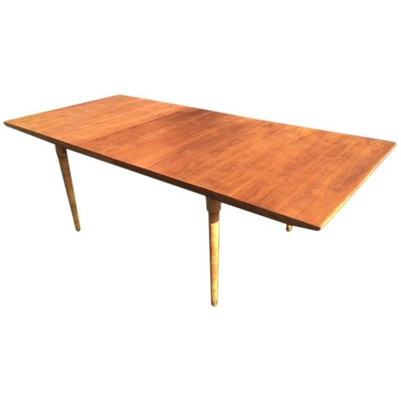 Mid-Century Walnut Dining Table - Image 1 of 4