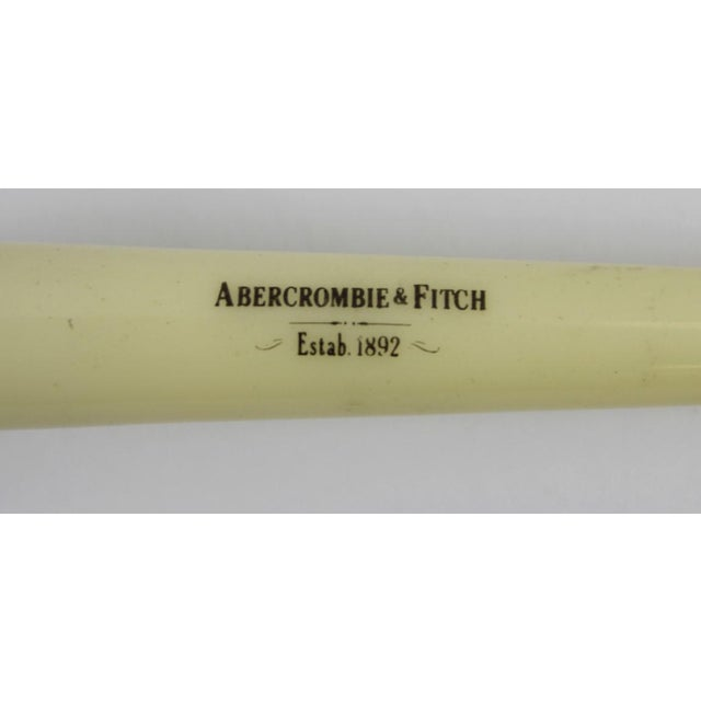 Industrial Abercrombie & Fitch Ivory Handle Razor For Sale - Image 3 of 4