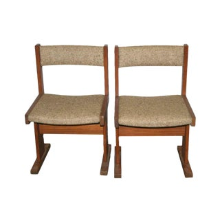 Modern Cushioned Dining Chairs - Set of 4