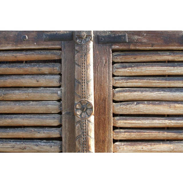 Anglo-Indian Antique 19th Century Hungarian Doors For Sale - Image 3 of 9