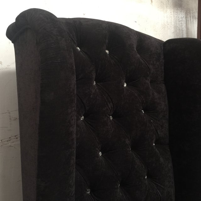 Black Tall Throne Chair For Sale In Atlanta - Image 6 of 10