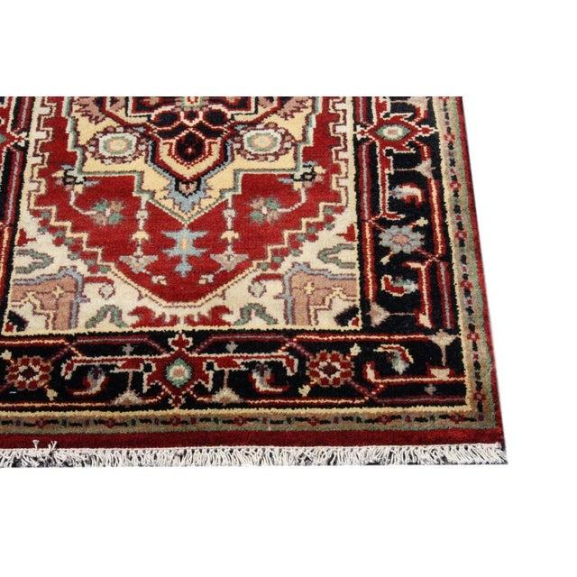 "Antique Persian Serapi Runner - 2'6"" X 8'1"" - Image 3 of 4"
