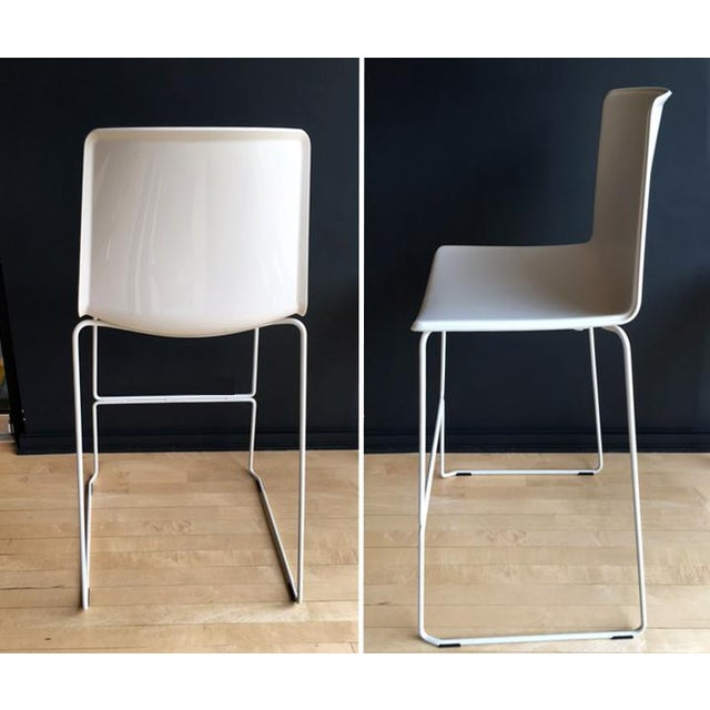 Contemporary Pedrali #899 Tweet Barstools - Set of 4 For Sale - Image 3 of 5