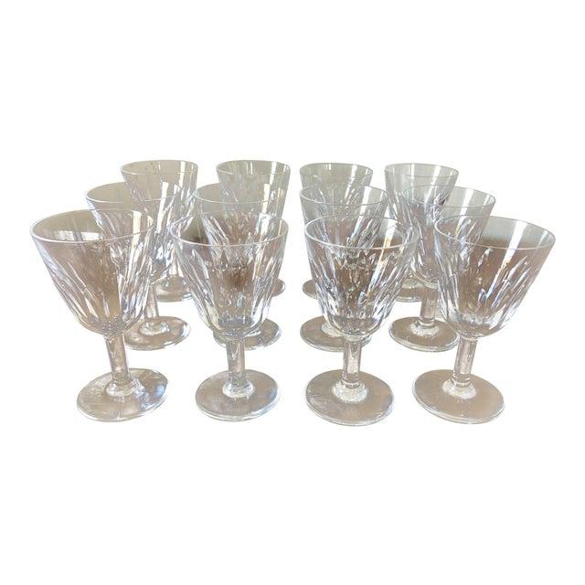 Vintage Baccarat Crystal Cordials- Set of 12 For Sale