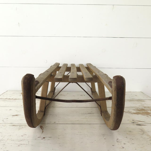 Vintage German Davos Sled For Sale In Houston - Image 6 of 8
