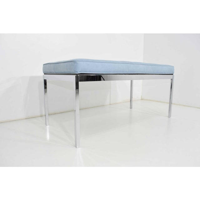 Florence Knoll Florence Knoll Bench For Sale - Image 4 of 6