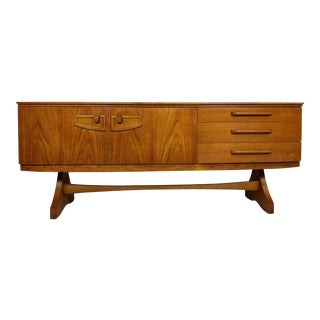 Mid Century Modern Bow Front Credenza by Beautility
