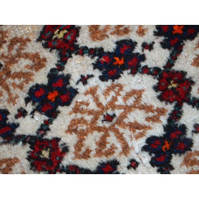 1960s Hand Made Vintage Persian Hamadan Runner - 2′7″ × 6′9″ - Image 6 of 10