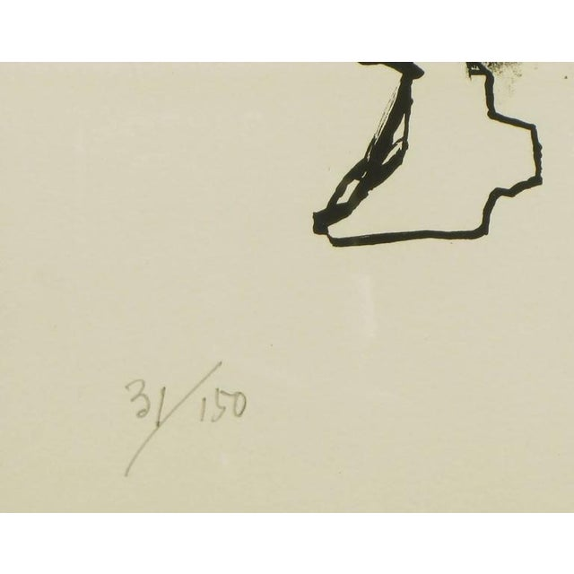Abraham Rattner (1893-1978) Black and White Limited Edition Print, Signed and Numbered For Sale In Chicago - Image 6 of 7