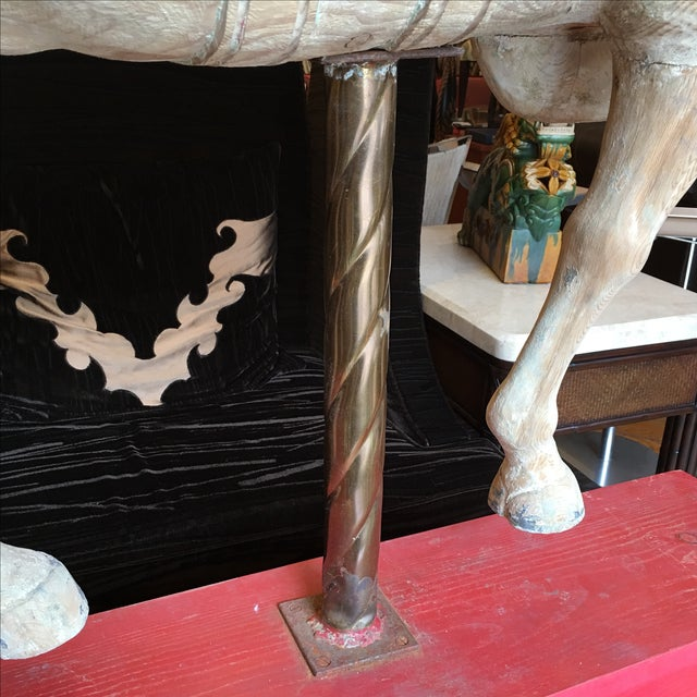 Antique Wooden Carousel Horse For Sale - Image 11 of 11