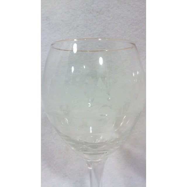 Winter Wine and Goblet Stemware-Set of Ten For Sale - Image 4 of 5