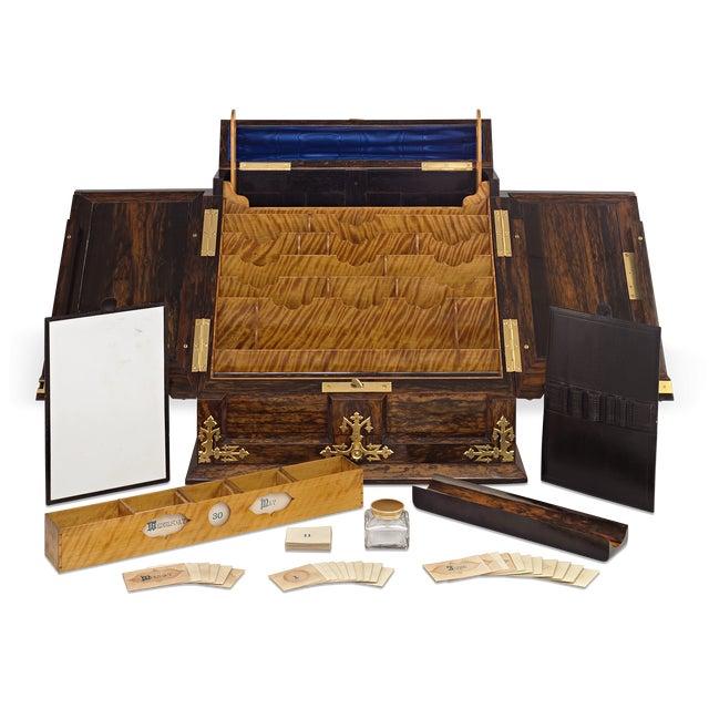 Traditional Tiffany & Co. Coromandel Writing Box For Sale - Image 3 of 6