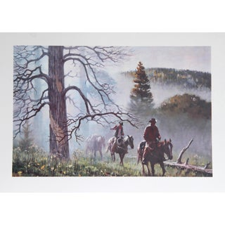 Duane Bryers, Mountain Fog, Lithograph For Sale