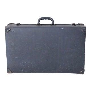 Vintage Blue Luggage Case For Sale