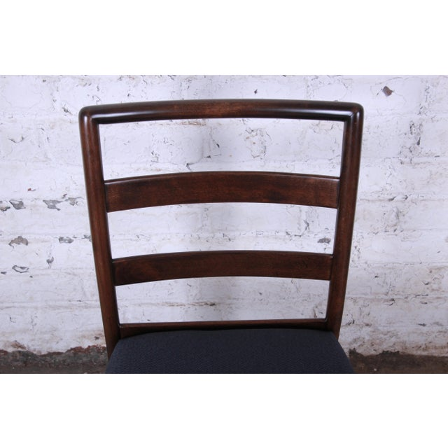 Wood Robsjohn Gibbings for Widdicomb Mid-Century Modern Dining Chairs -Set of 6 For Sale - Image 7 of 13