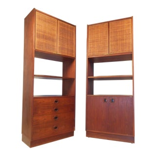 Pair of Mid-Century Modern Bookcases or Shelves For Sale
