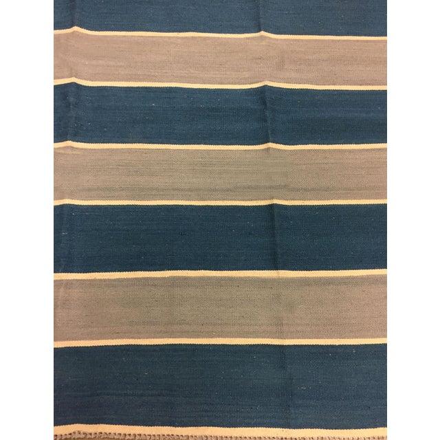 New Hand Woven Kilim 9'10 X 13'4 - Image 5 of 5