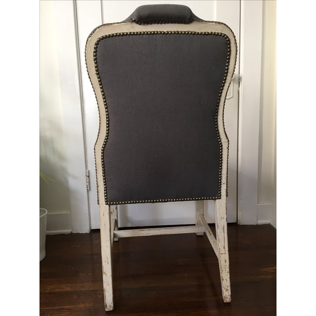 Bunny Williams Designer Jack Dining Chairs - Pair - Image 4 of 6