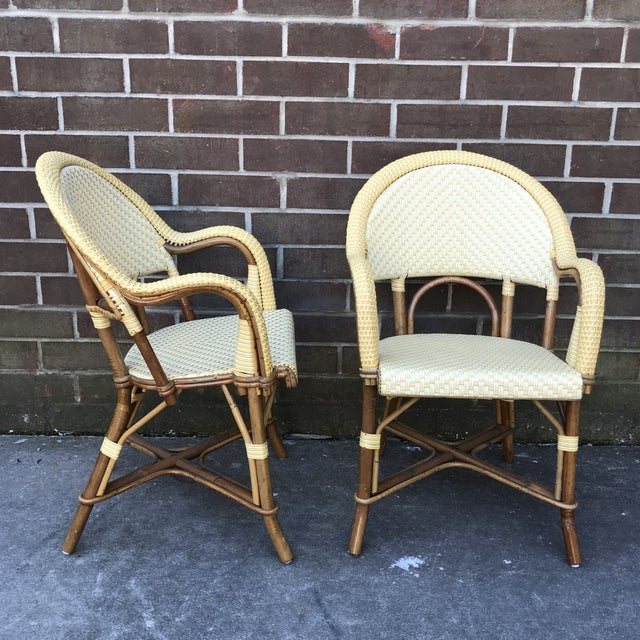 Modern Authentic French Maison J. Gatti Bistro Chairs - a Pair For Sale - Image 13 of 13