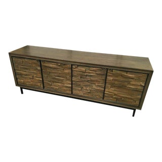 Mid-Century Sherrill Drake Entertainment Credenza For Sale