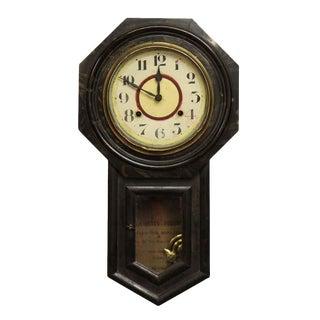 Oriental Wall Clock For Sale