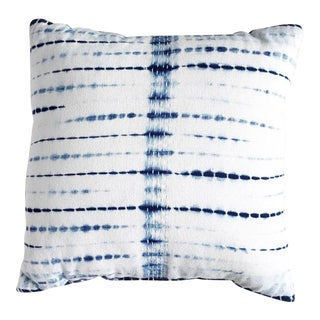Shibori Dyed Pillow