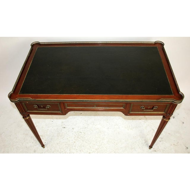 French Directoire Style Bureauplat/Desk For Sale - Image 3 of 6