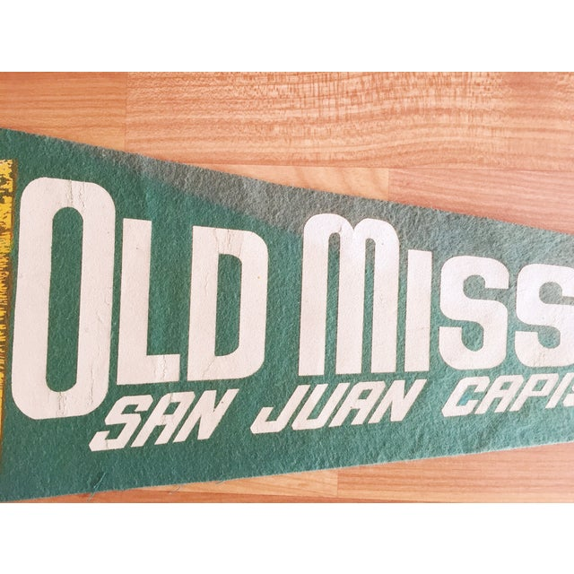 Old Mission San Juan Capistrano California Pennant - Image 4 of 5