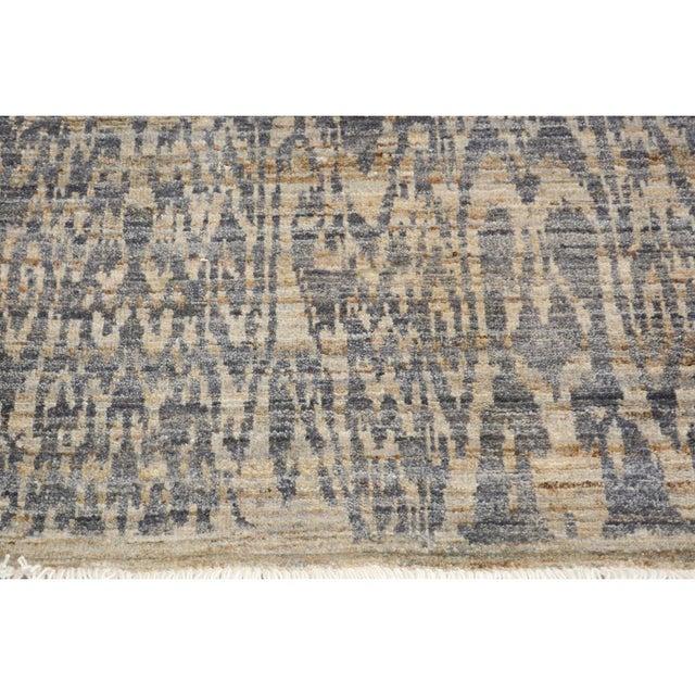 Kafkaz Peshawar Crysta Gray & Blue Wool Rug - 4'1 X 6'3 For Sale In New York - Image 6 of 8