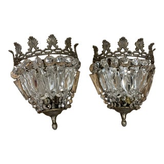 Early 20th Century Wall Sconces - a Pair For Sale