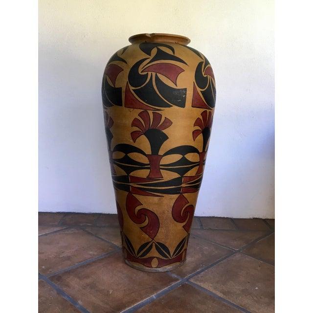 Ceramic Designer Floor Vase - Image 2 of 4