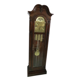 1979 Herschede Wall Clock Grandfather Clock For Sale