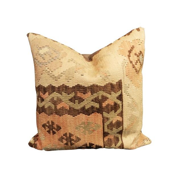 Superb Old Turkish Tribal Kilim Pillow For Sale