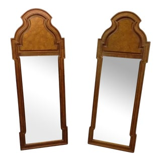 Vintage Gold Regency Style Mirrors - A Pair