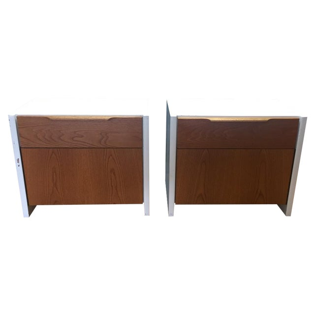 Barzilay Solid Wood Drawer Nightstands - Pair For Sale