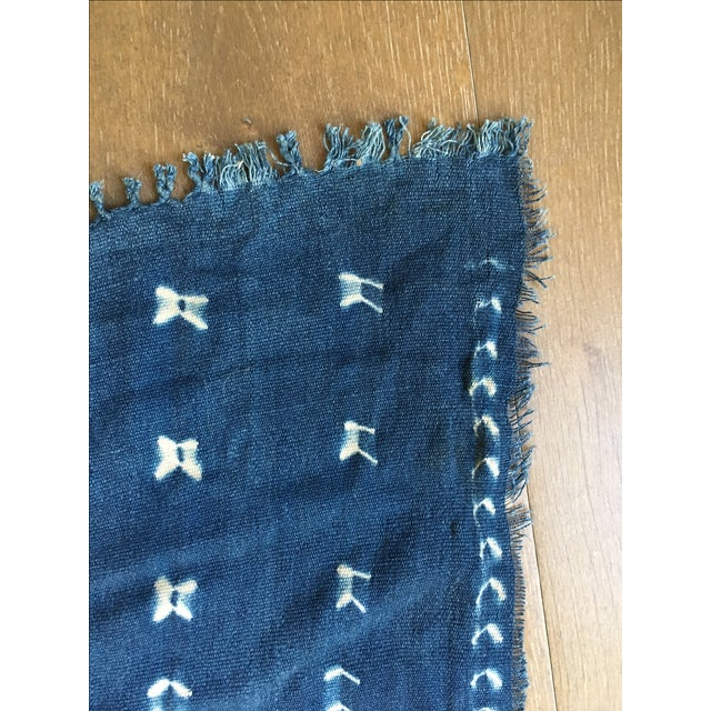 African African Mud Cloth Fabric For Sale - Image 3 of 4