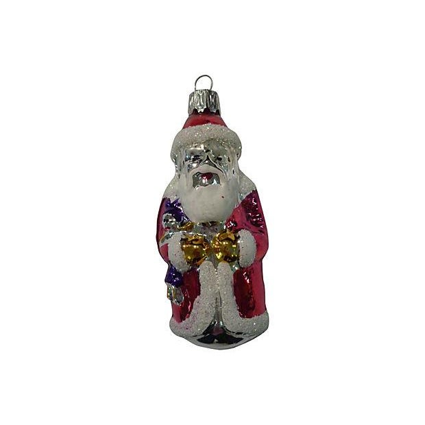Santa & Gnomes Christmas Ornaments - S/3 - Image 2 of 4