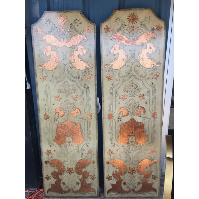 2000 - 2009 Modern Century Furniture Panels- A Pair For Sale - Image 5 of 5